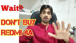 Wait, Don't buy Xiaomi Redmi 4A (No Gorilla Glass)