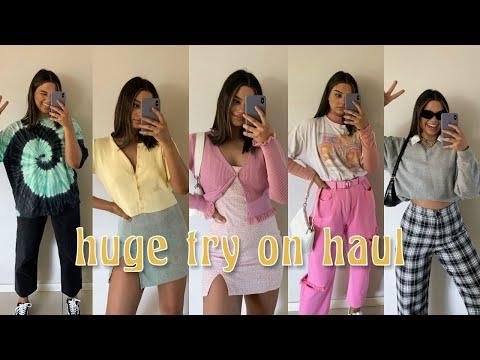 Huge Super Cute & Trendy Try-on Haul!