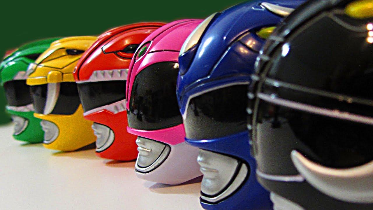 Bandai Saban's Mighty Morphin Power Rangers Red Ranger Helmet Legacy Collection