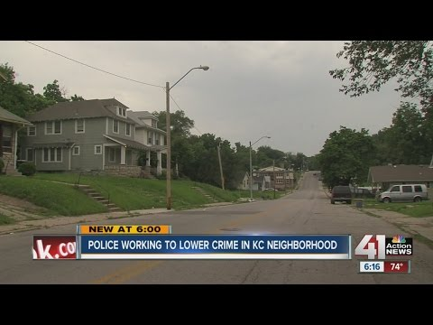 Police working to lower crime in Kansas City