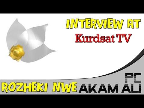 Kurdsat TV Rozheki Nwe - Live Interview with Akam Ali - English Subtitle