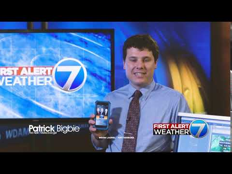 WDAM ID - First Alert Weather - App (Patrick) - YouTube