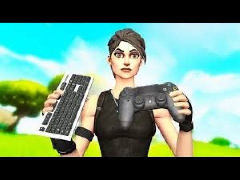 To The Girl With Red Converse Fortnite Montage