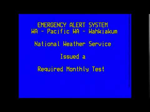 Emergency Alert System in PowerCityNight