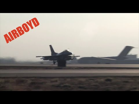 F-16 Operations • Bagram Air Field