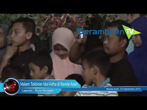 Meriahnya Malam Takbir Idul Adha di Banda Aceh