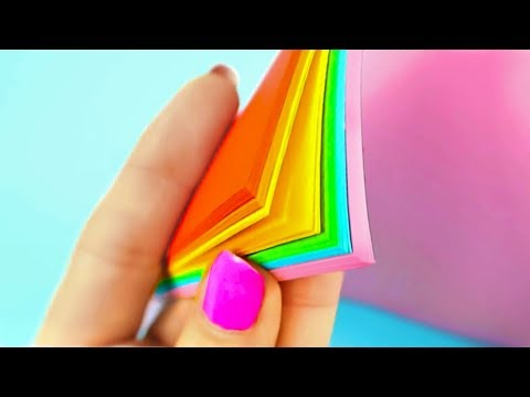 5 DIY YOU CAN MAKE IN 5 MINUTES! DIY & CRAFTS WITH PAPER!