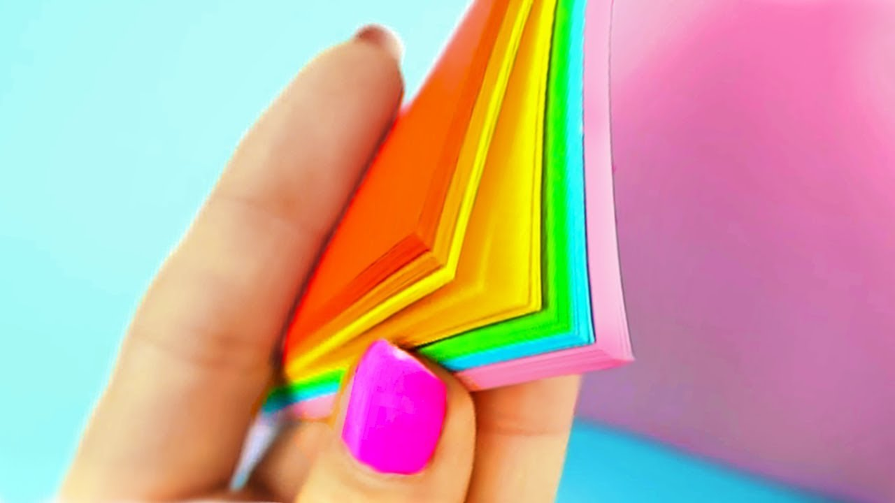 5 Minute Crafts For School Hacks Easy - Diy And Crafts