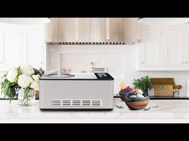 Whynter 2 Quart Capacity Compressor Ice Cream Makers & Yogurt Incubator with Stainless Steel Bowl