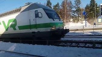 Juna Hyvinkäällä