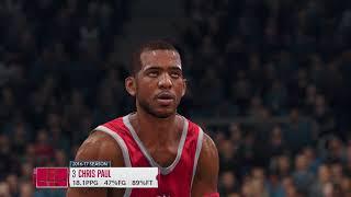 NBA Live 18 Houston Rockets vs Minnesota Timberwolves NBA Live 18 Full Game Simulation Nation
