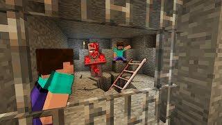 Жители Скрывали Страшную Тайну Деревни от Нуба в Майнкрафт ! Грифер Нуб Против Ловушка Minecraft