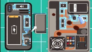 Repair Master 3D Gameplay Walkthrough Part 1 - Fix iphone And Laptop
