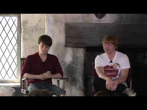 Daniel Radcliffe, Rupert Grint and other Harry Potter stars discuss Wizarding World, movies and more