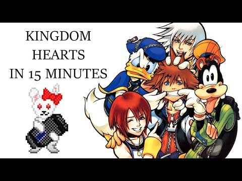 Kingdom Hearts in 15 Minutes by Michaela Laws