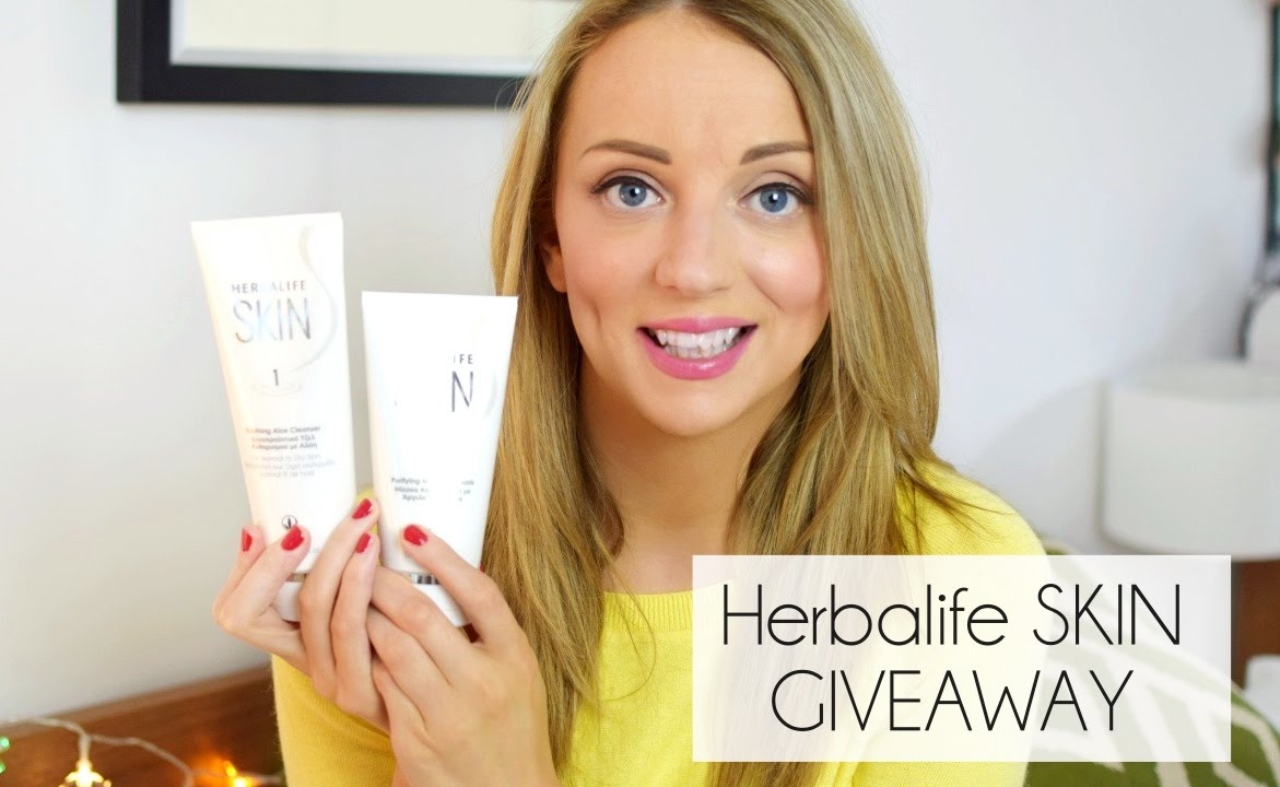 Herbalife Skin Review Giveaway Paula Holmes Youtube