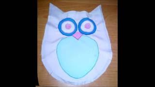 Сова подушка своими руками(Как сшить оригинальную подушку-игрушку для вашего малыша? Как дополнить интерьер замечательным аксессуаро..., 2016-08-16T14:59:08.000Z)