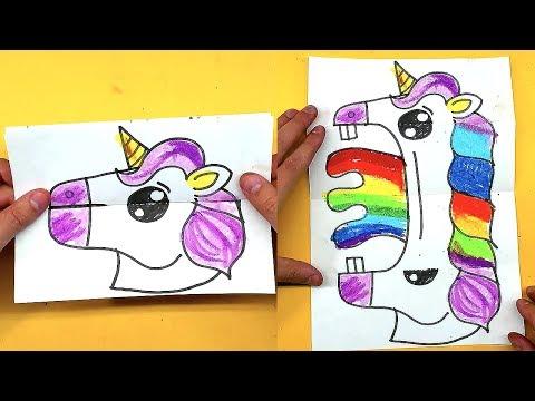 ЕДИНОРОГ - Открытка ИГРУШКА рисунок для детей