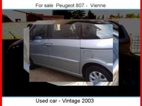 Sale one Peugeot 807  Vienne  Isère