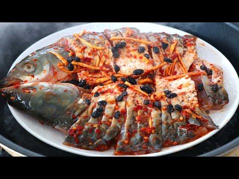 南方醃辣魚:草魚學會湖南特色做法,簡單又美味,比水煮魚更好吃【夏媽廚房】