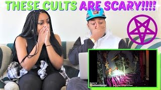 "Shane Dawson ""SCARIEST CULTS EVER"" REACTION!!!!"