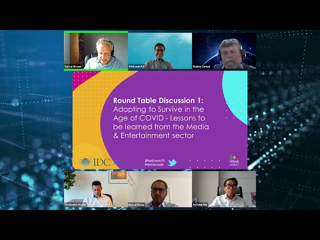 CIO Round-Table Discussion -The Future of Enterprise Technology - Media & Entertainment - Europe