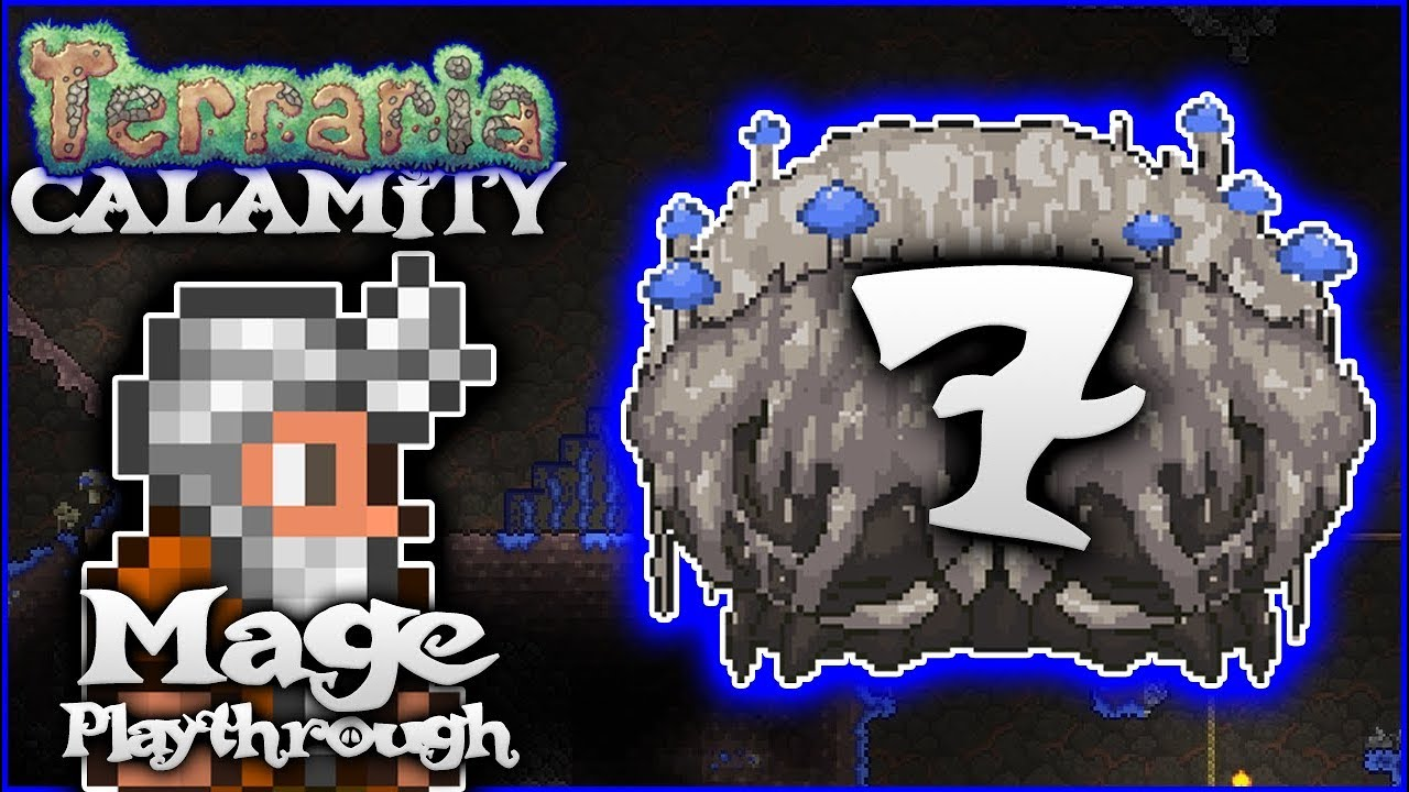 Alchemist NPCs, New Houses & Crabulon! | Terraria 1 3 5 Calamity Mod Mage  Let's Play [Episode 7] by PythonGB