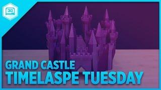 Grand Castle Generator - Timelapse Tuesday #3DPrinting