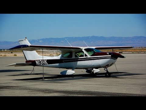 Flying to Big Bear, CA in a Cessna Cardinal