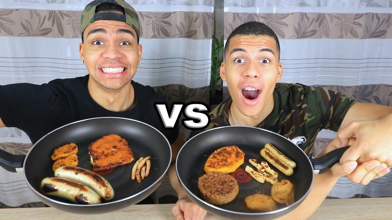 vegetarisch vs nicht vegetarisches essen prankbrostv youtube. Black Bedroom Furniture Sets. Home Design Ideas