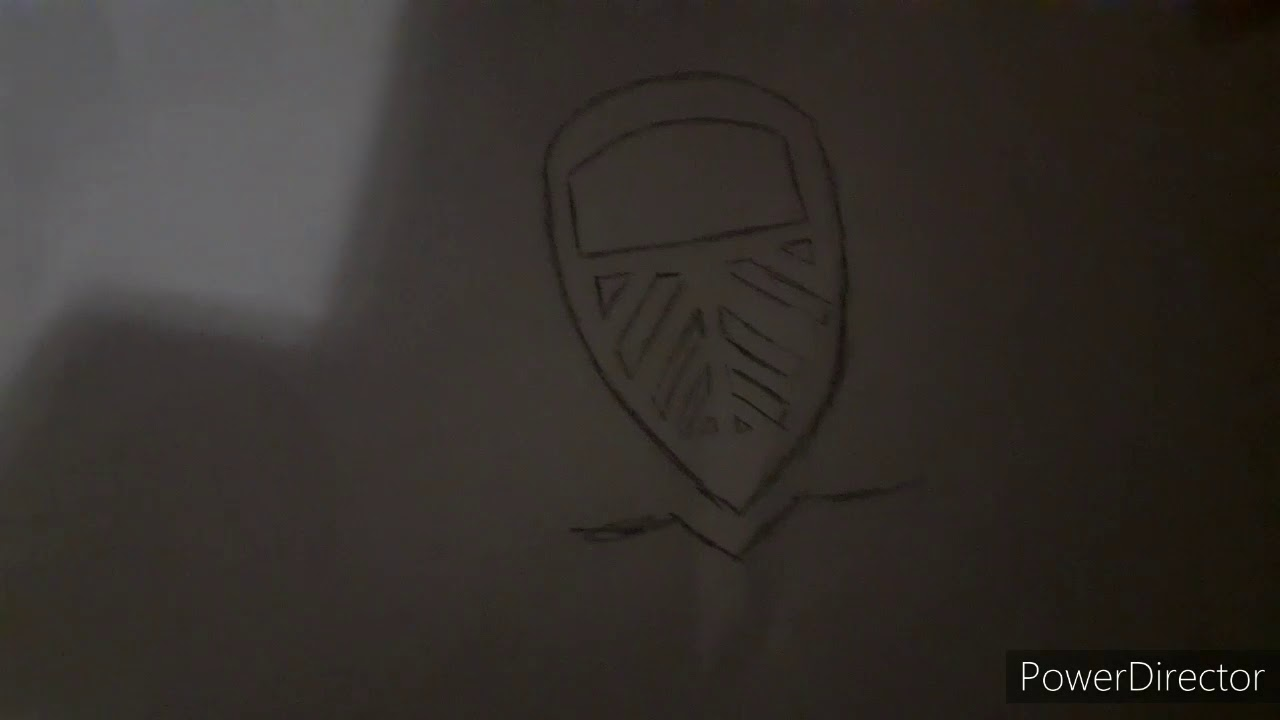 How To Draw Leeds United 100 Year Badge Youtube