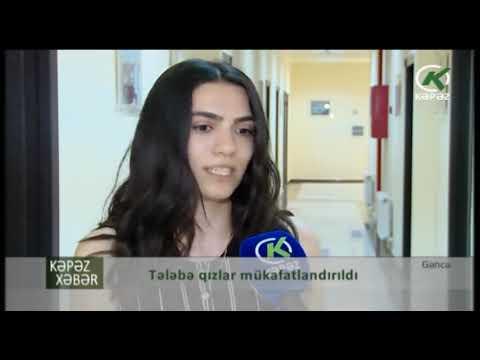 """Gəncədə """"Gənc qızların Bahar - 2019 kuboku""""na yekun vurulub  - Kəpəz TV"""