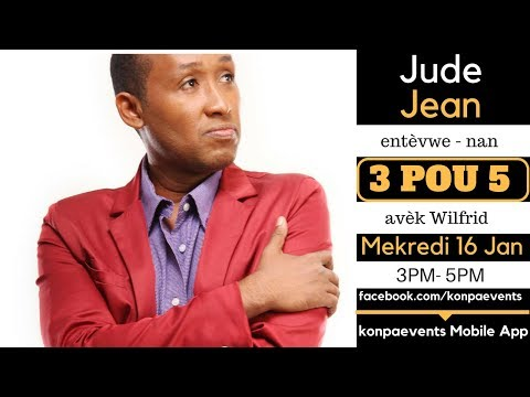 Jude Jean Interview on 3POU5: Kdans, New Album, Talent and More