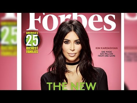 Kim Kardashian West Covers Forbes Magazine & Slams Trolls Who Claim She's 'Talentless'