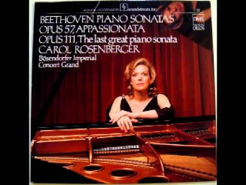 Carol Rosenberger Piano Sonata Opus.57 Appassionata