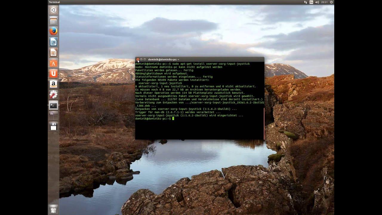 Ubuntu / Mint - Maus mit Gamepad steuern