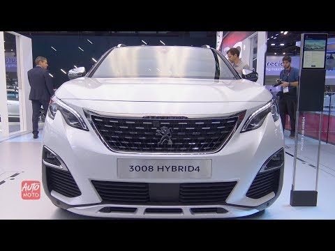 Peugeot  Hybrid  - Exterior And Interior Walkaround -  Paris Motor Show