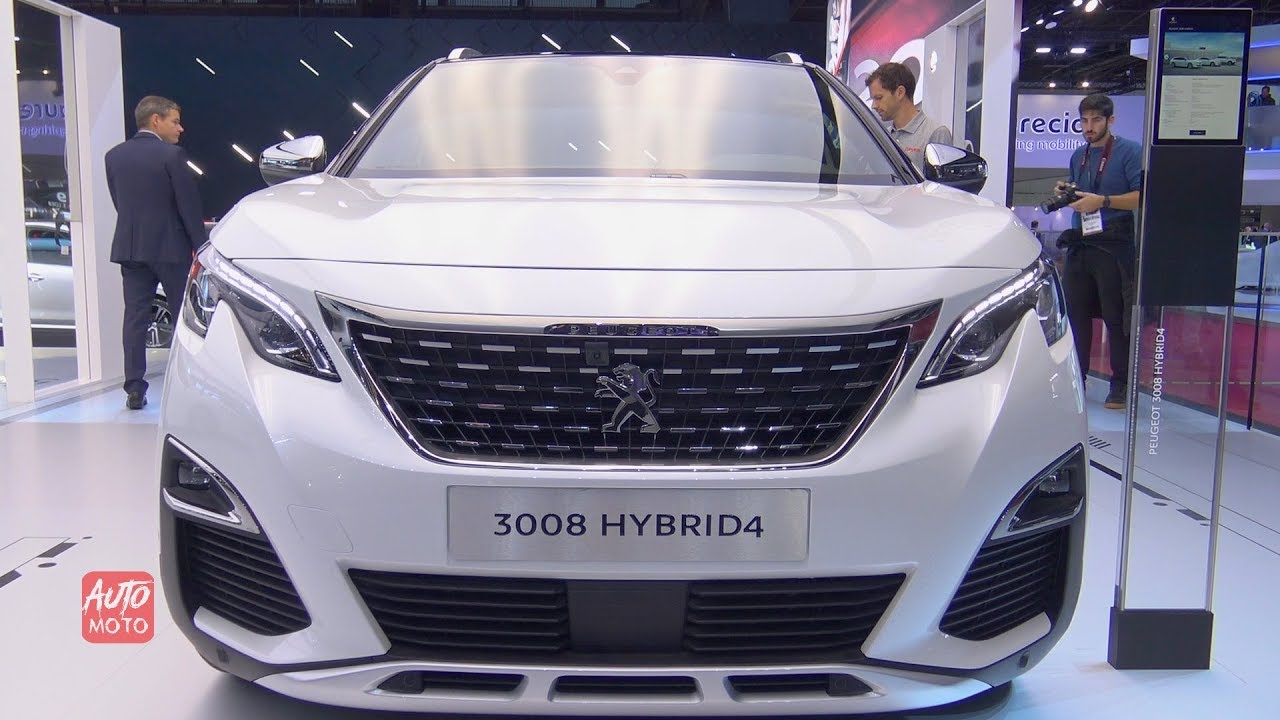 2019 Peugeot 3008 Hybrid 4 Exterior And Interior Walkaround 2018 Paris Motor Show