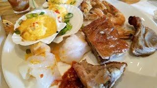 the best buffet in las vegas caesars palace bacchanal buffet vlog 31 taste of trini