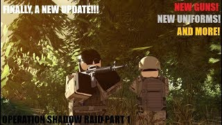 OPERATION SHADOW RAID | NEW UPDATE | Roblox Blackhawk Rescue Mission | BRM |