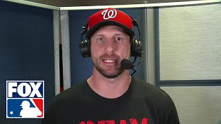 "Max Scherzer after World Series Game 1 win: ""We've had a lot of firsts around here"" 