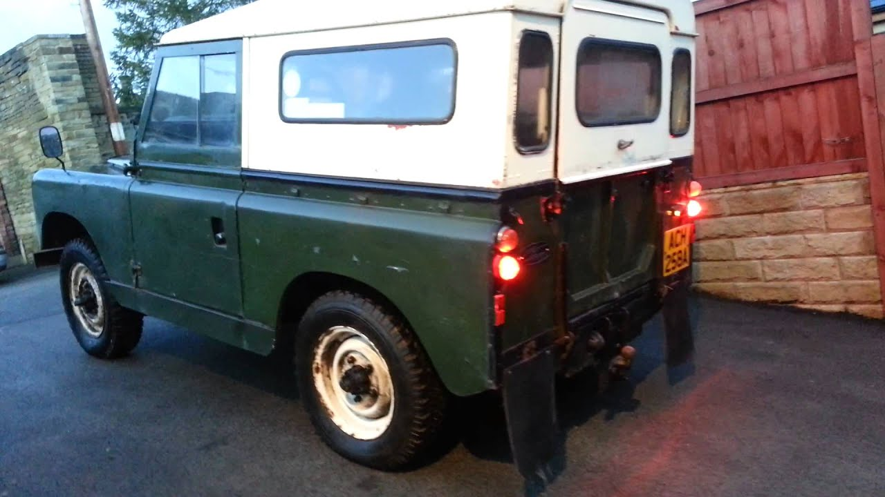 Land Rover Series II 2 1958 FOR SALE