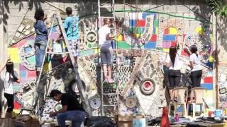 Ciudad Reciclada - Mural Lux Mundi