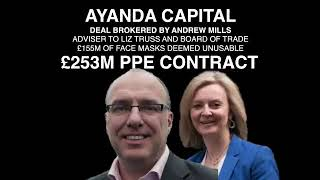CORRUPT CONTRACTS IN UK COVID RESPONSE