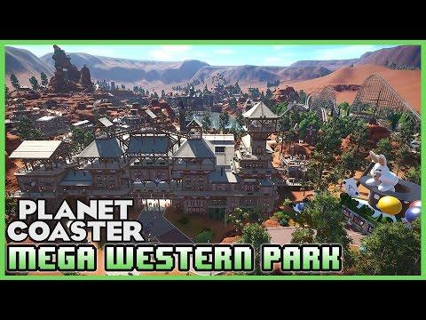 MYSTERY WORLD! Most Detailed Mega Western Park! Park Spotlight 51 #PlanetCoaster