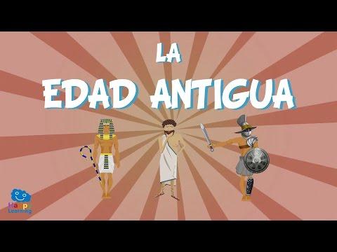 La Edad Antigua | Vídeos Educativos para Niños