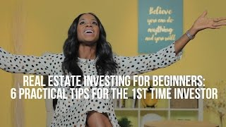 Real Estate Investing For Beginners: 6 Tips For The 1st Time Investors - Samantha Brookes Mortgages