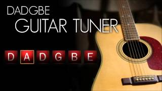 Drop D Guitar Tuner - Acoustic (Interactive!)