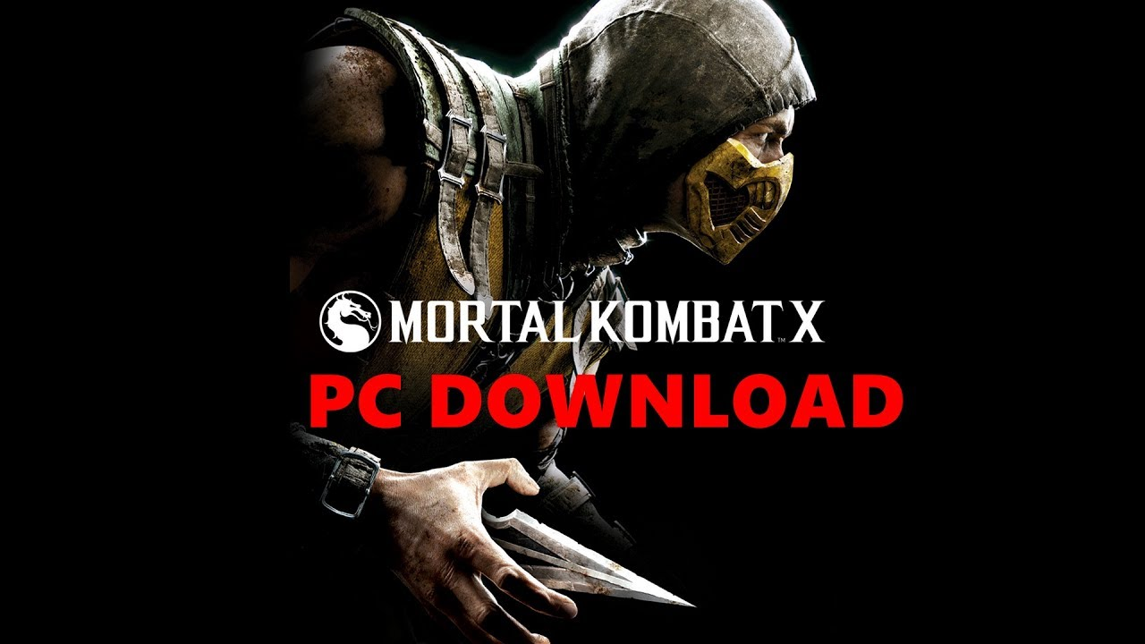 How to download mortal kombat x torrent file youtube.