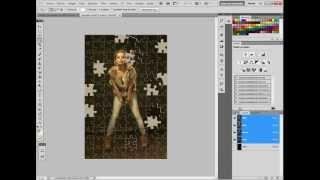 Photoshop cs5 - Efecto puzzle